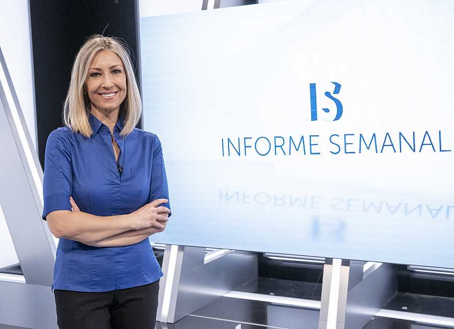 Informe Semanal estrena decorados, cabecera y presentadora, Marisa Rodríguez Palop