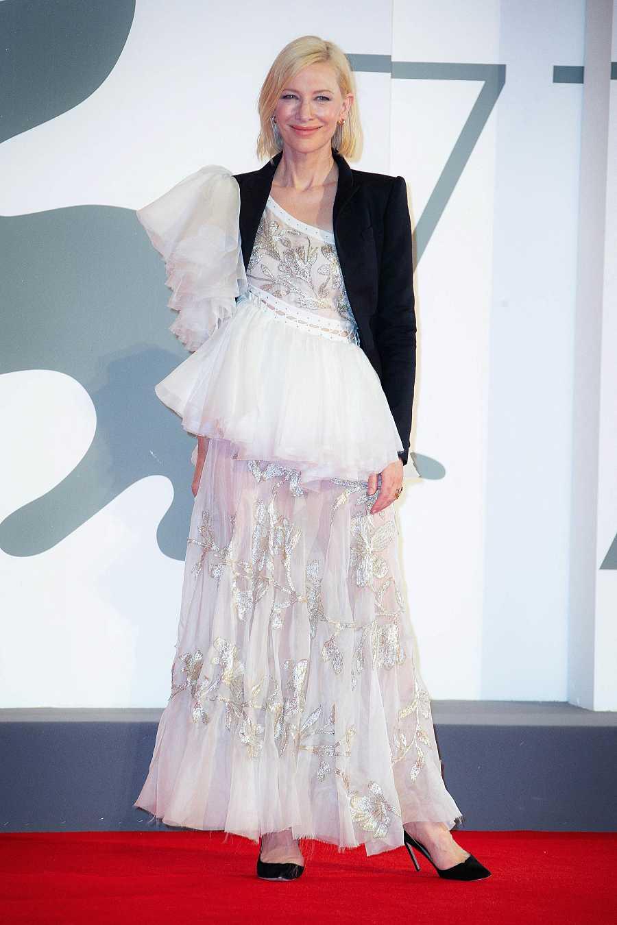 Cate Blanchett en la premiere de la película Love After Love