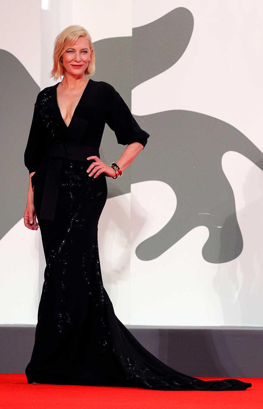 Cate Blanchett en la proyección de 'Wife of a Spy'