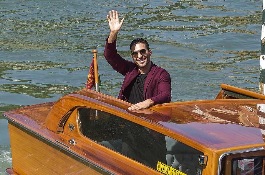 Miguel Ángel Silvestre durante la 77ª edición del Festival de cine de Venecia