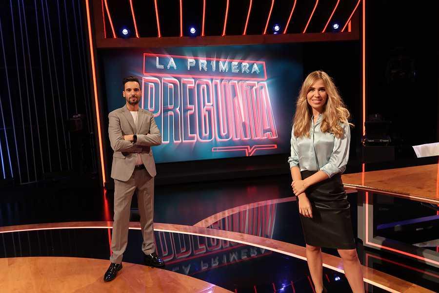 Lluís Guilera y Maria Gómez en La Pr1mera Pregunta