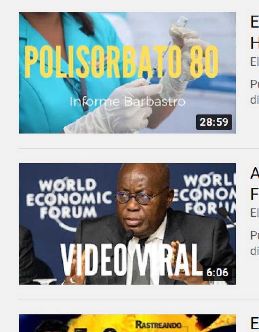 Un canal con dos bulos, uno político y otro sanitario, desmentidos por VerificaRTVE