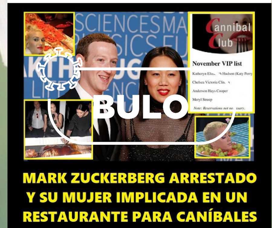 Mensaje qanonista en un canal negacionista español