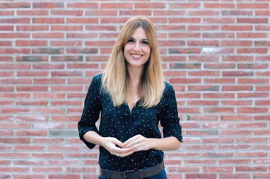 Jèssica del Moral, presentadora del programa 'En Línia'