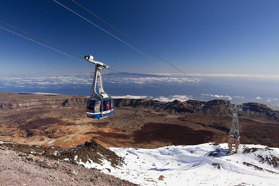 Teleférico en El Teide, Tenerife