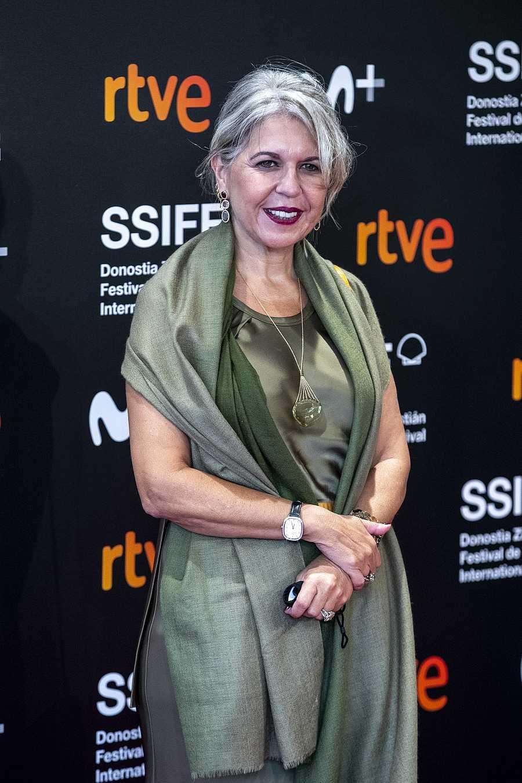 Alba Tous durante el photocall de 'Oso' en la 68ª edición del Festival de Cine de San Sebastián