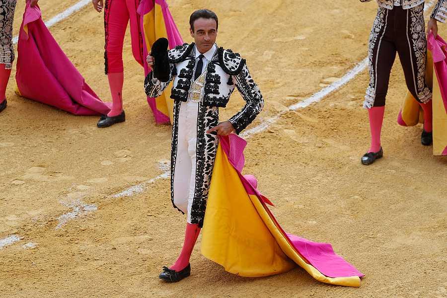 Enrique Ponce durante un festejo taurino en Granada