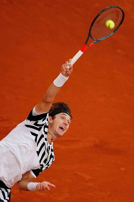 Egor Gerasimov, en Roland Garros