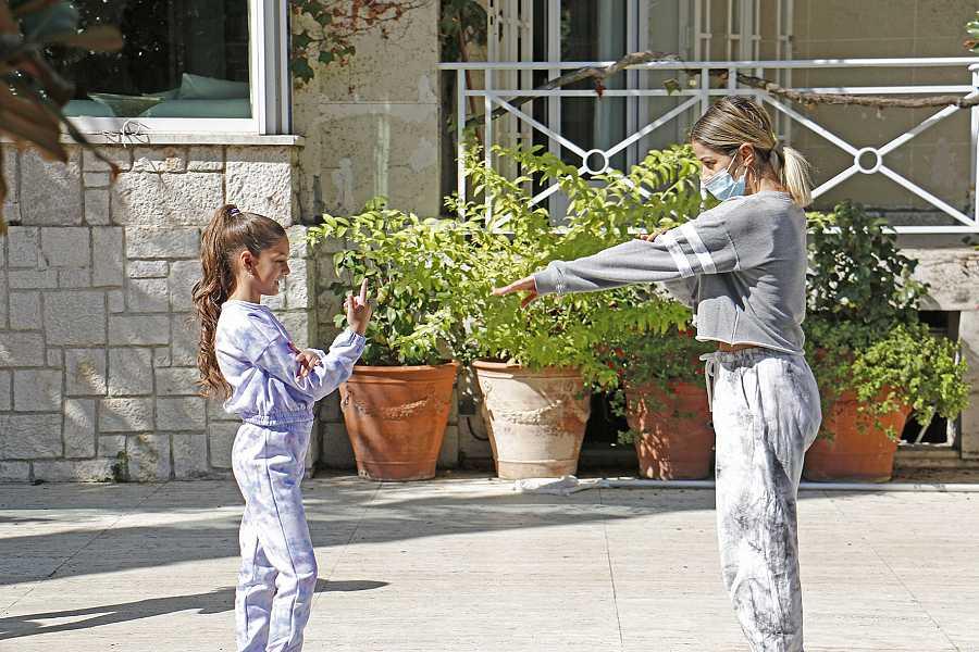 Vicky Gómez trabajando con Soleá