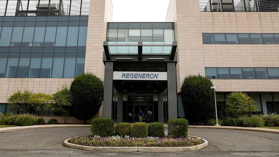 Imagen de la sede de la compañía biotecnológica estadounidense Regeneron.