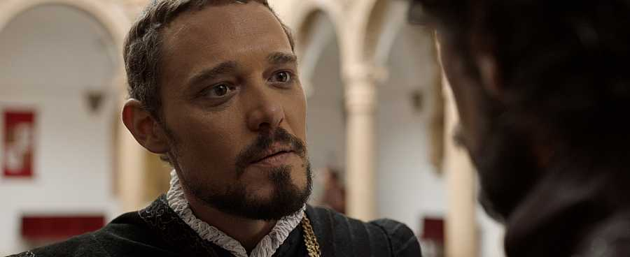 Federico Aguado es Hernando Pizarro en 'Inés del alma mía'