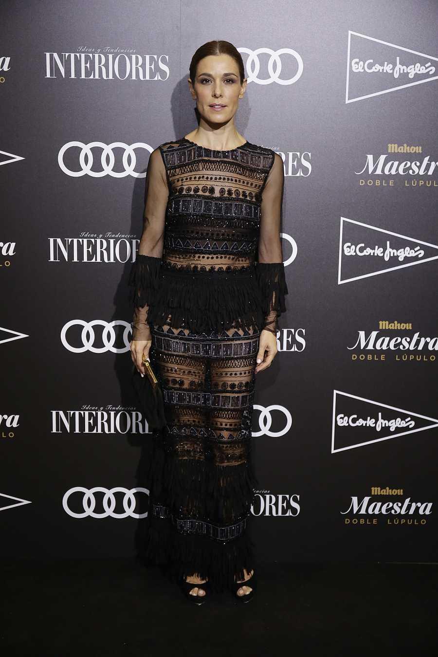 La presentadora Raquel Sánchez Silva durante la 3 edición de los premios interiores prisma 2017 en Madrid 26/10/2017