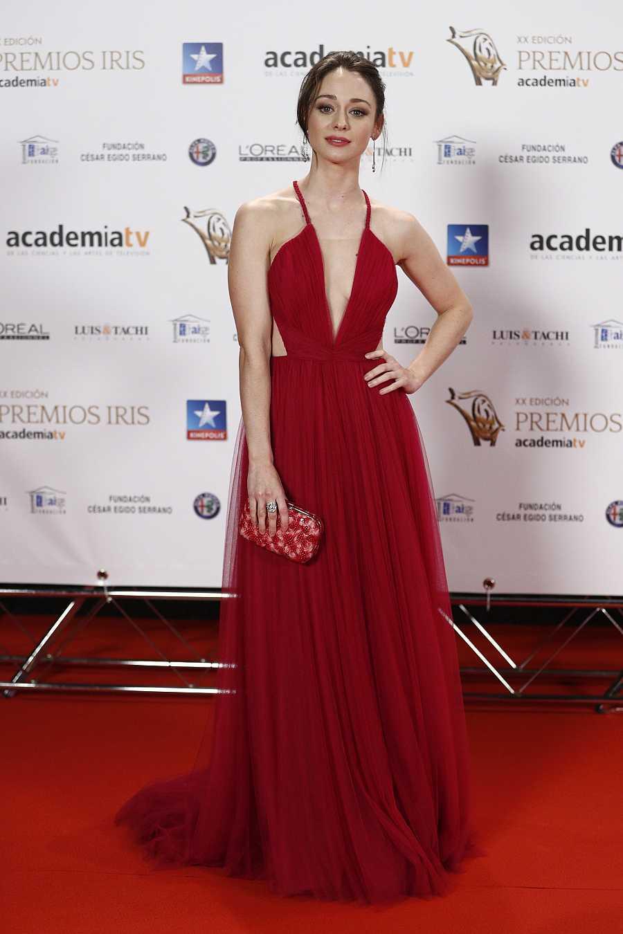 El vestido favorito de Elena Rivera, este diseño rojo de Santos Costura