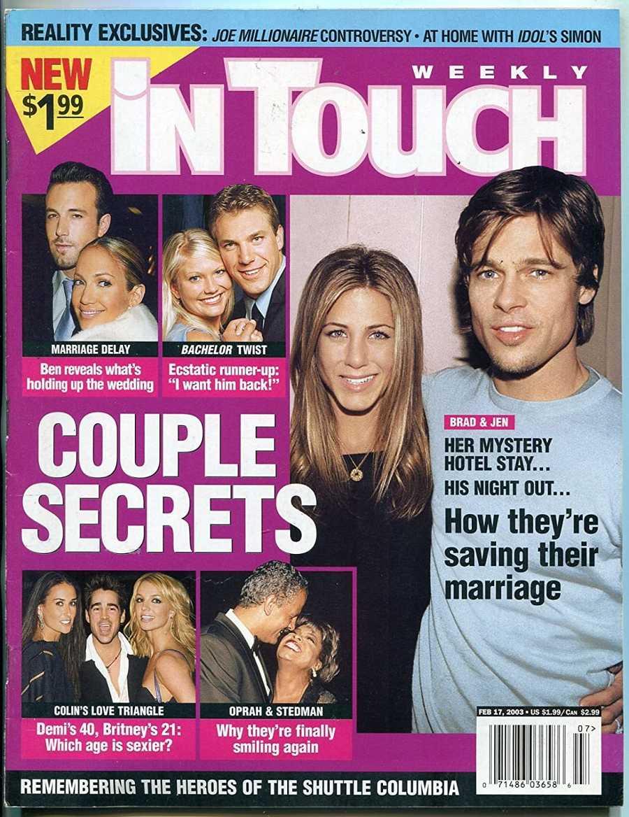 Portada de In Touch, 17 de febrero de 2003