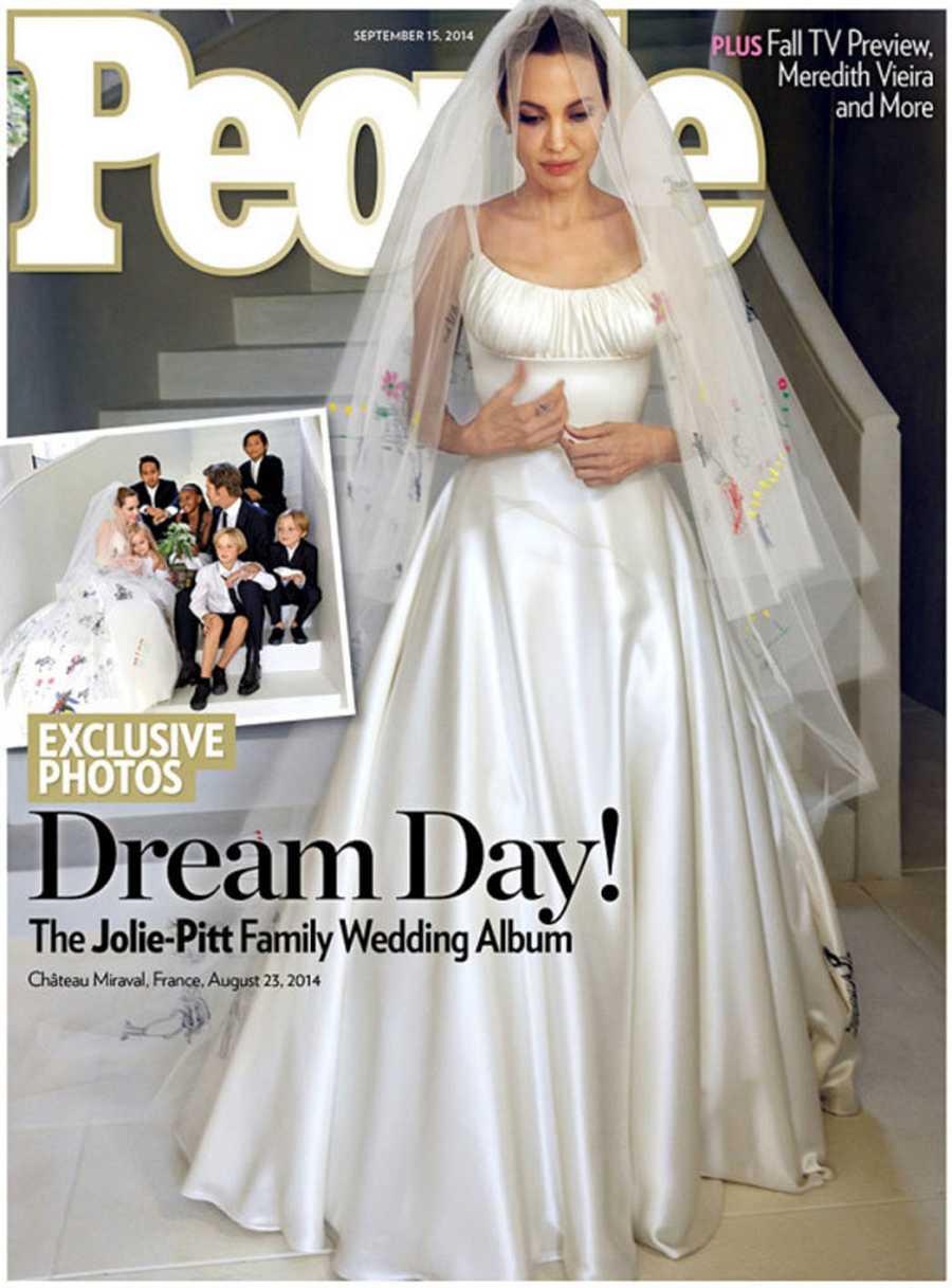 La boda de Angelina Jolie, portada de la revista People
