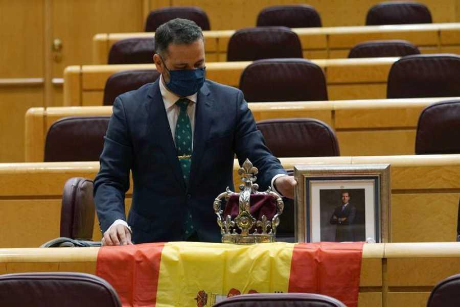 El senador por Ceuta del PP, David Muñoz.