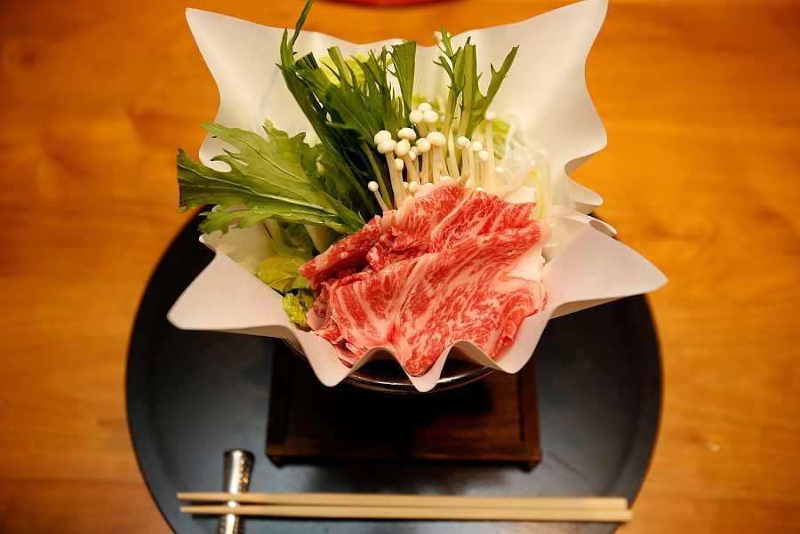 Chop Suey con hojas de crisantemo coronario