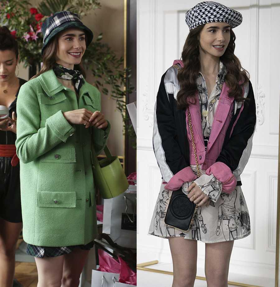 Las decisiones de moda de 'Emily in Paris' están siendo lo más comentado de la serie