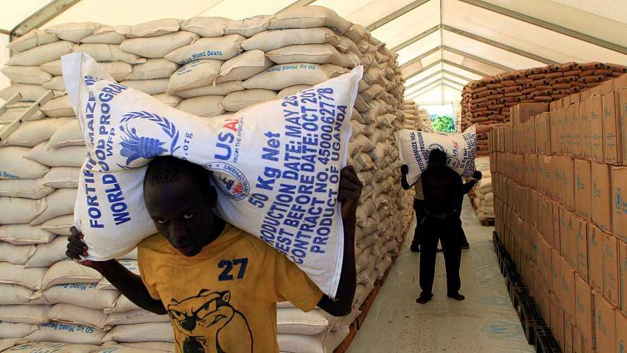 La mayor parte del trabajo del PMA se desarrolla en países afectados por conflictos bélicos.