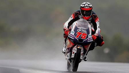 Albert Arenas en su moto