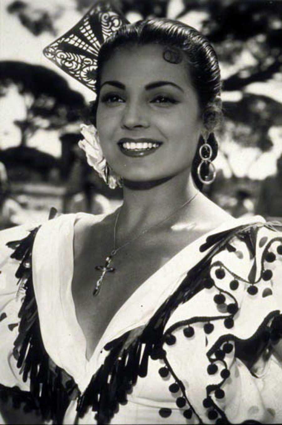 .Carmen Sevilla en una película