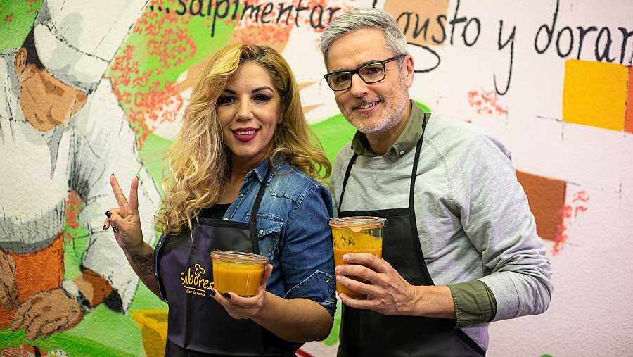 Rebeca y Mikel López Iturriaga