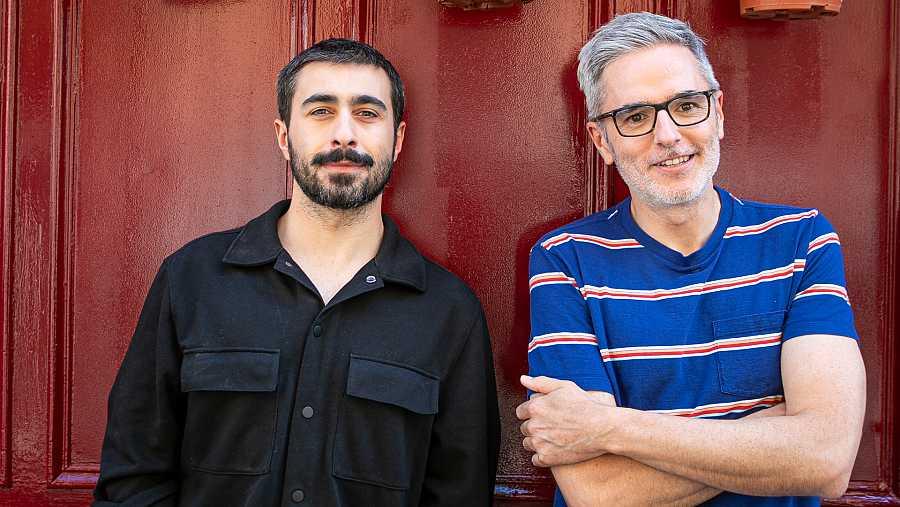 Rayden y Mikel López Iturriaga en 'Banana Split'