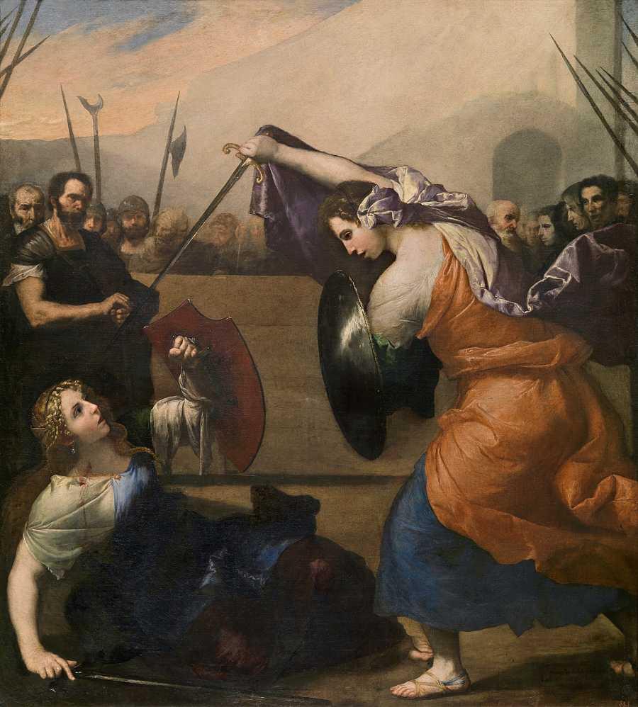 Combate de mujeres (José de Ribera, 1636). Museo del Prado.