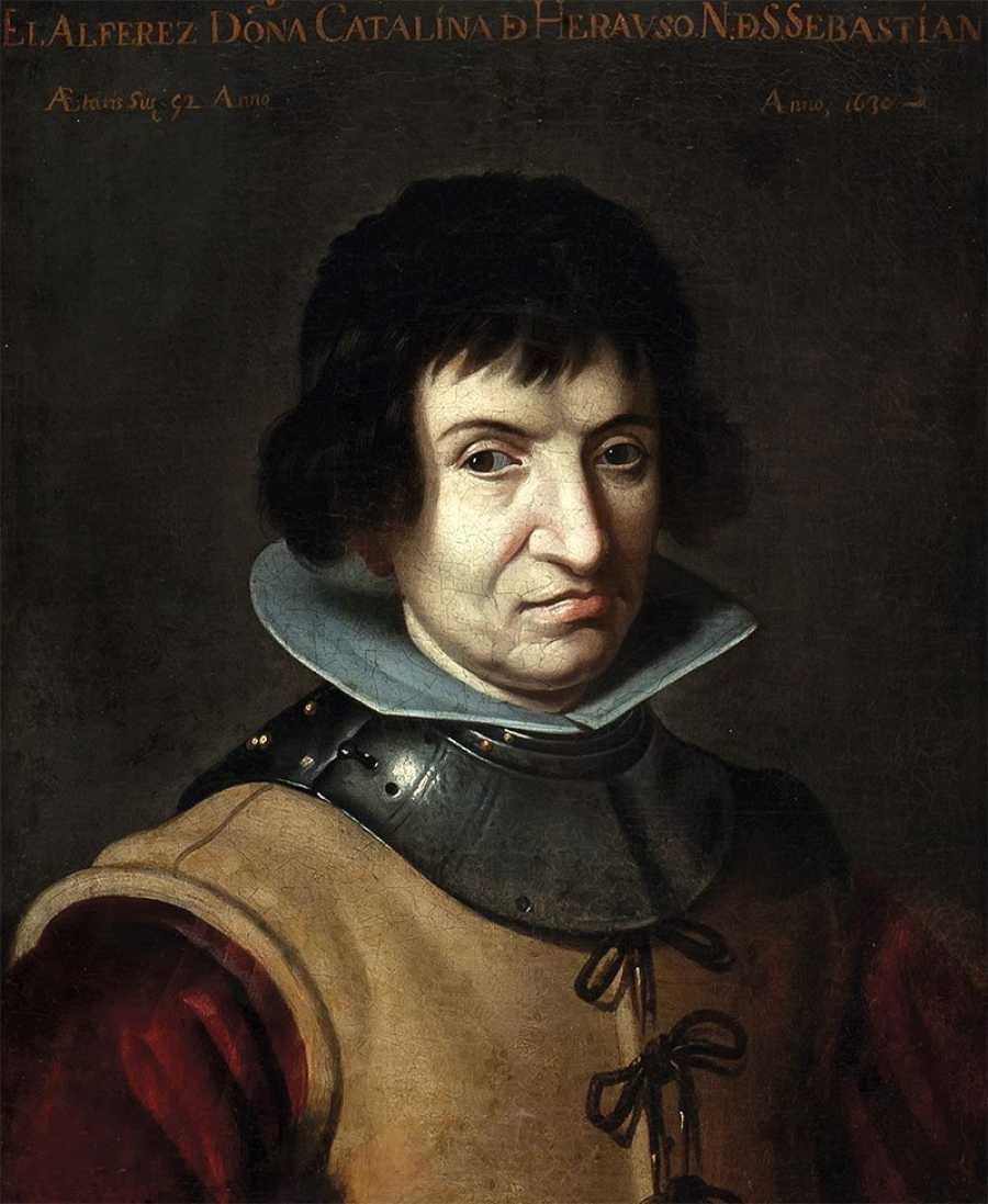 Catalina de Erauso (Juan van der Hamen, 1625), Fundación Kutxa San Sebastián