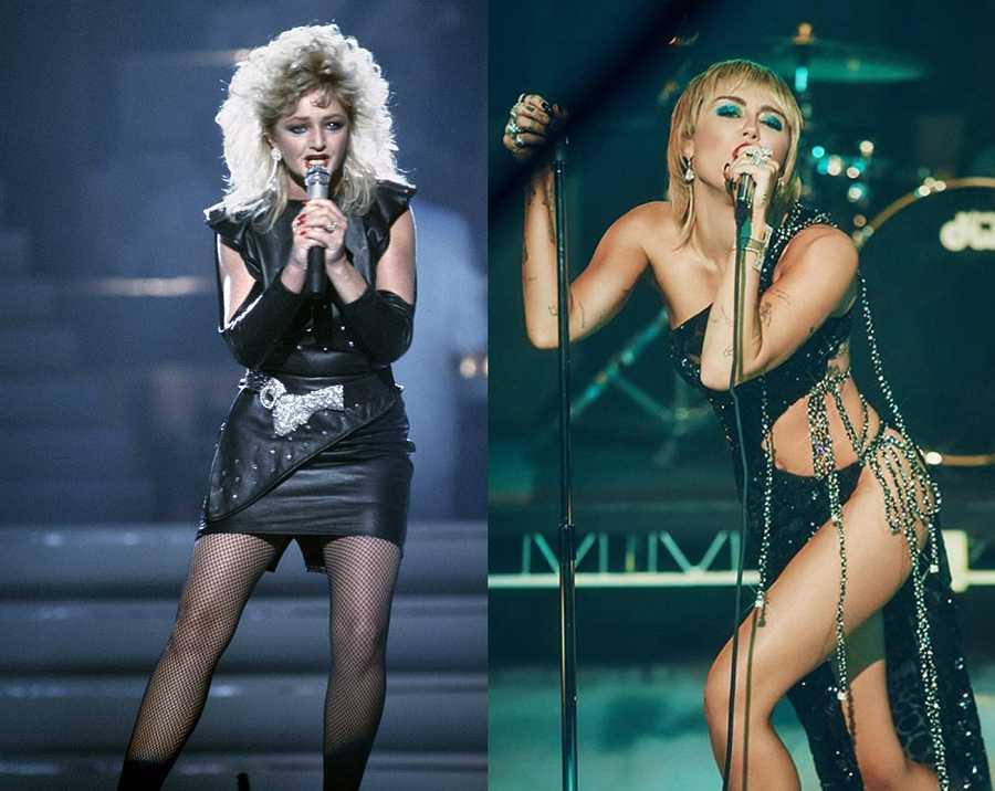 Miley Cyrus cambia de look en 'Midnight Sky'