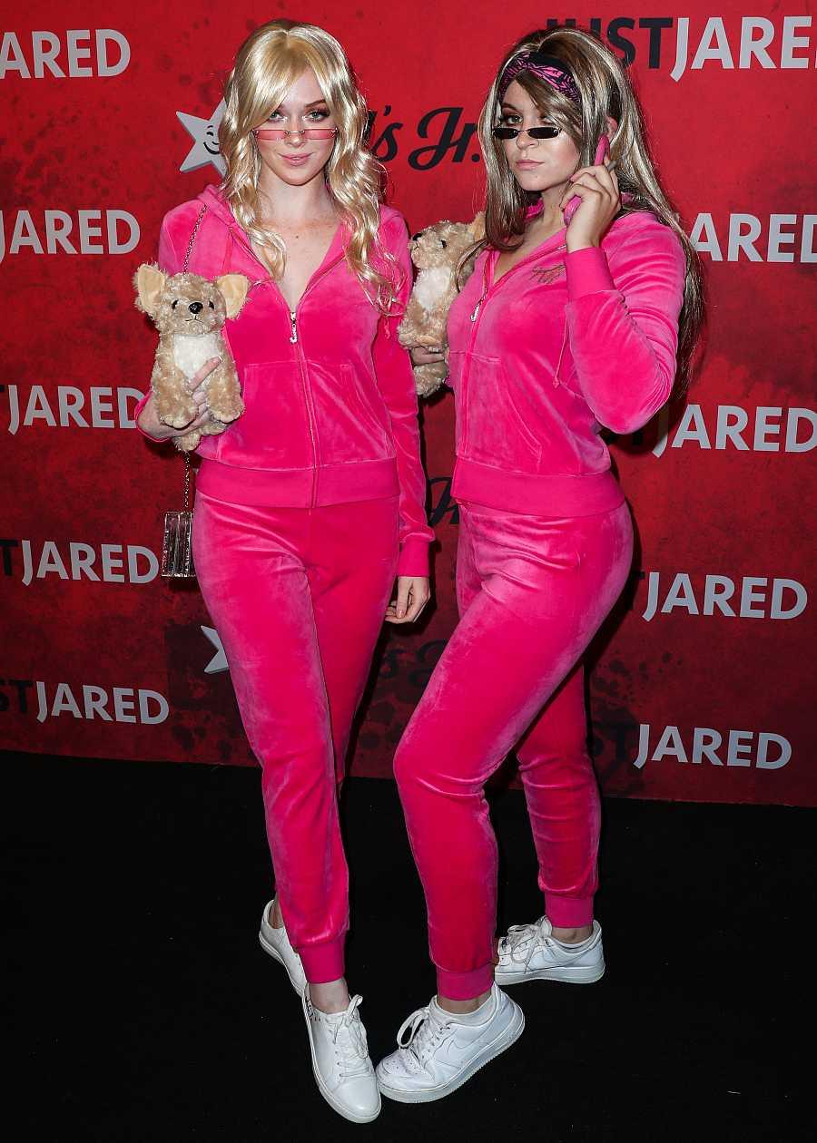 Larsen Thompson y Krissy Saleh se disfrazan de Paris Hilton