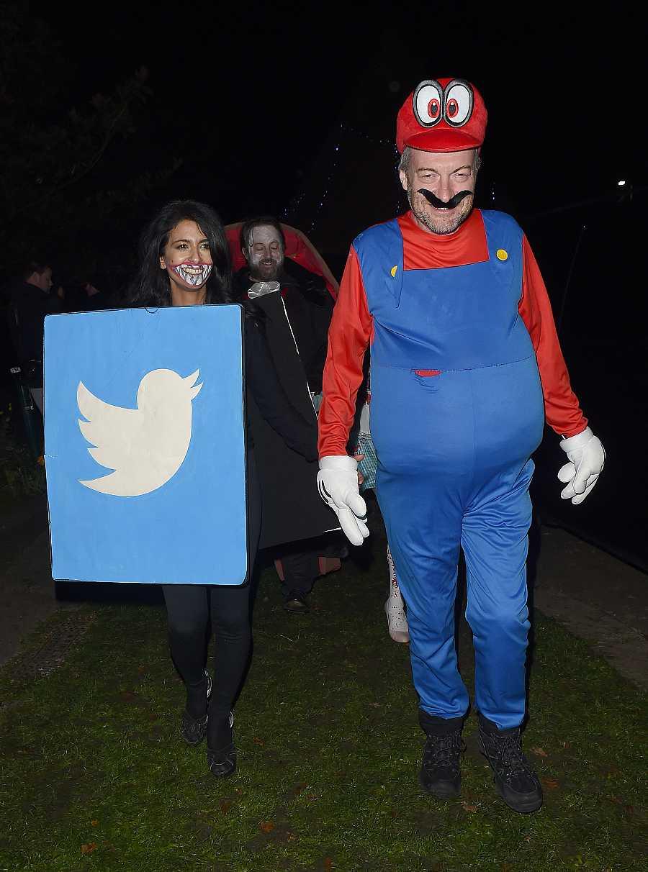 Konnie Huq y su marido, Twitter y Super Mario