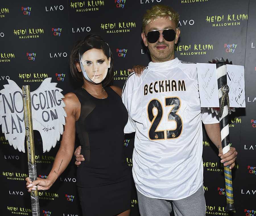 Mel B y su novio, Gary Madatyan, imitan a la pareja compuesta por su compañera Spice Girl