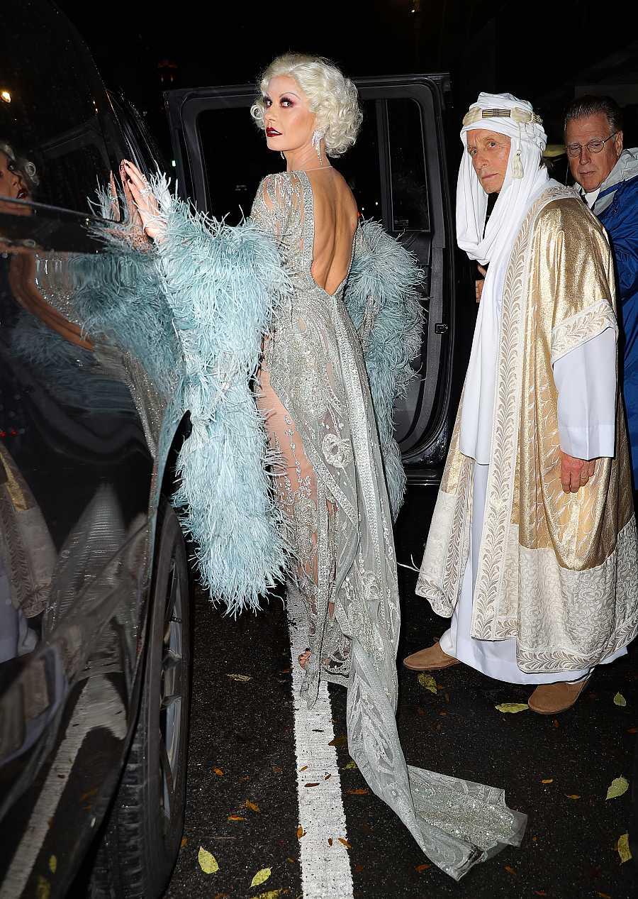 Catherine Zeta Jones y Michael Douglas, estrellas clásicas en Nueva York