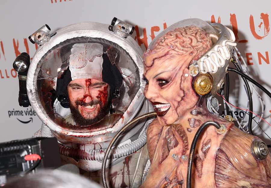 Heidi Klum y Tom Kaulitz, disfraz de pareja