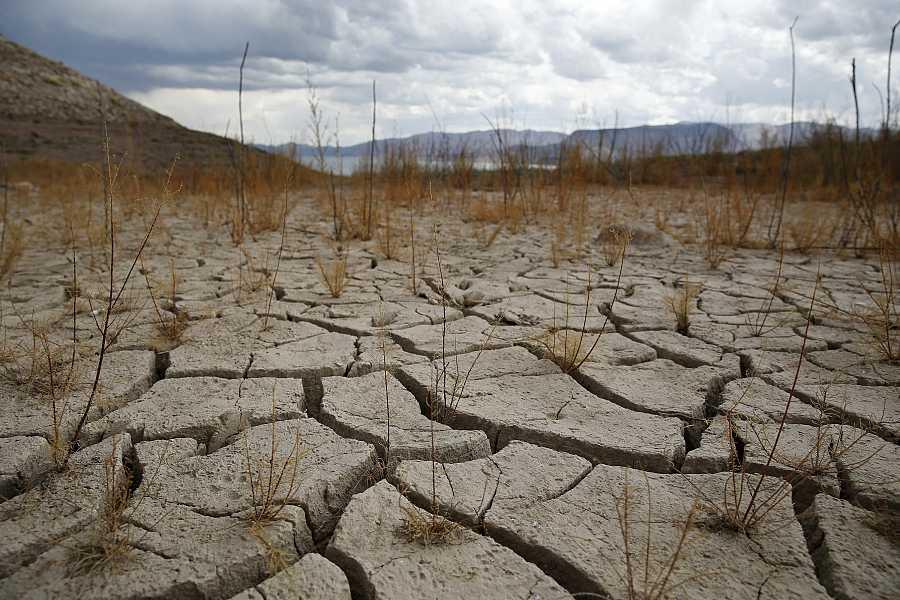Orilla seca del Lago Mead, Estados Unidos