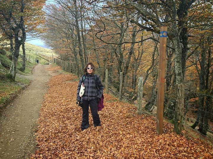 Sílvia ha tenido que renunciar a caminar por la montaña poor los síntomas persistentes de COVID-19