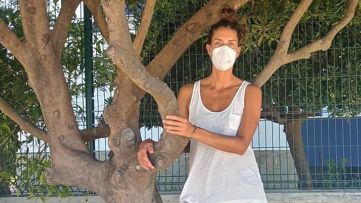 Fátima ha pasado de enfermera a paciente con síntomas persistentes de COVID en siete meses
