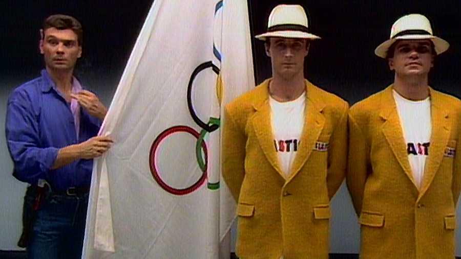 Slastic, en los Juegos Olímpicos del 92