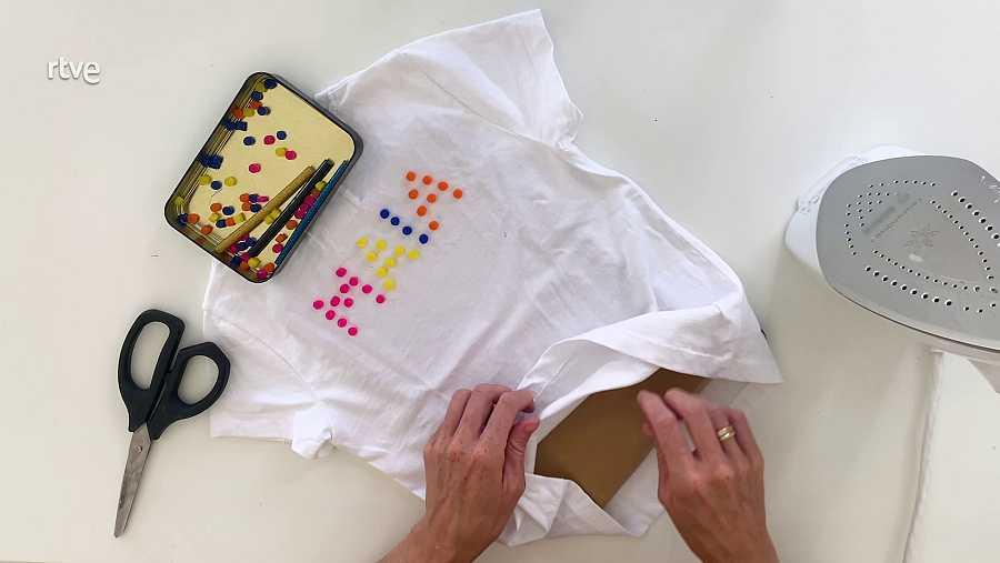 Customizar una camiseta: Paso 1