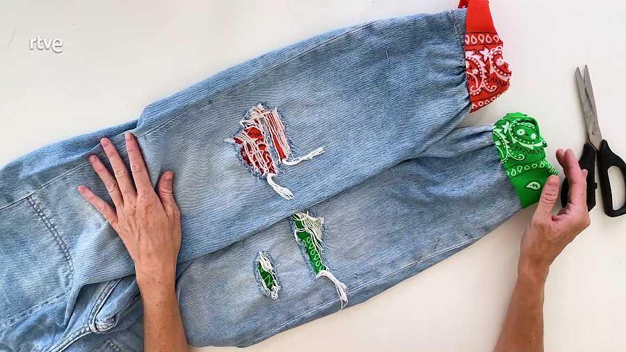 Customizar un pantalón: Resultado final