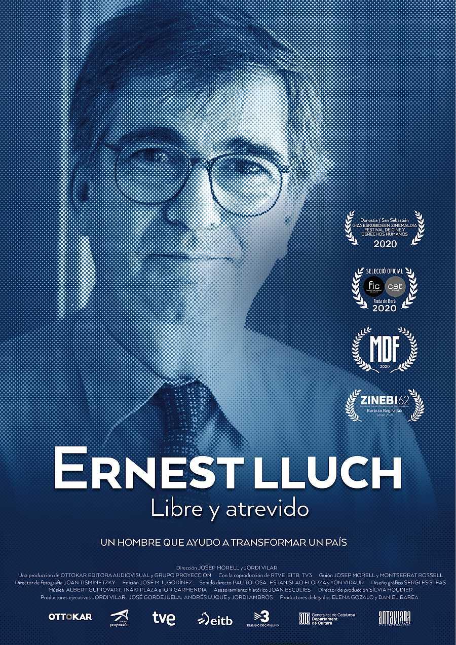 Poster del documental 'Ernest Lluch, libre y atrevido'