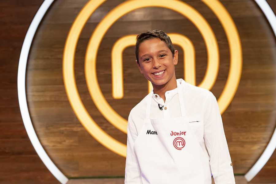 Manel, competidor de MasterChef Junior 8