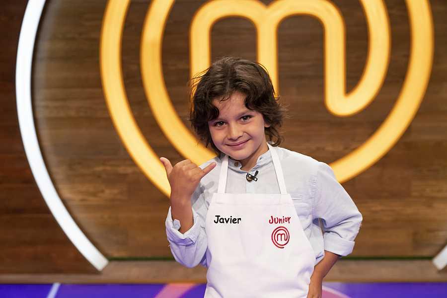 Javier, candidato a MasterChef Junior 8