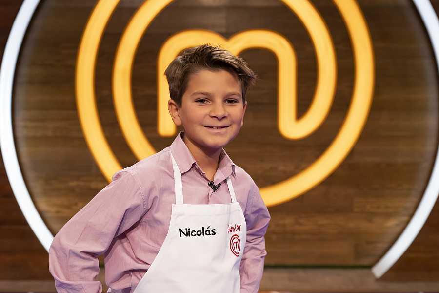 Nicolás, competidor de MasterChef Junior 8