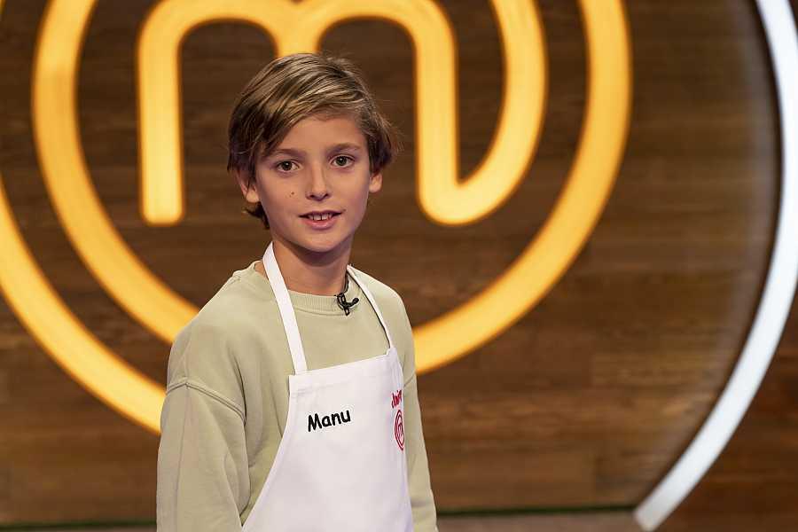 Manu, competidor de MasterChef Junior 8