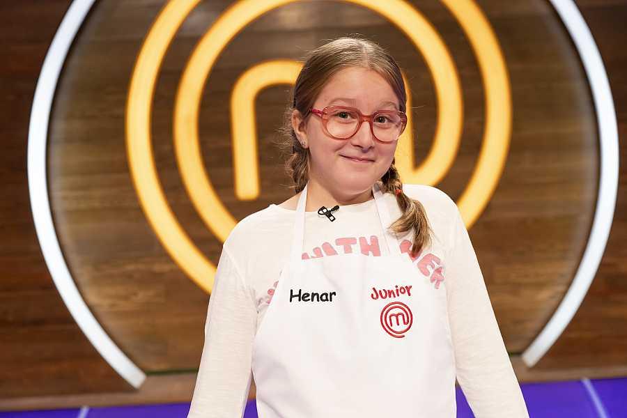 Henar, competidor de MasterChef Junior 8