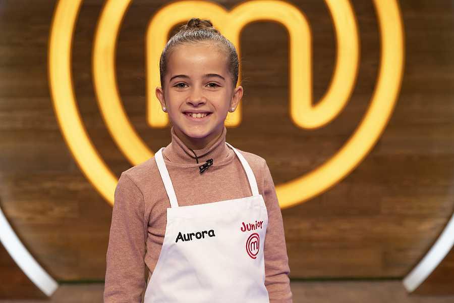 Aurora, competidora MasterChef Junior 8