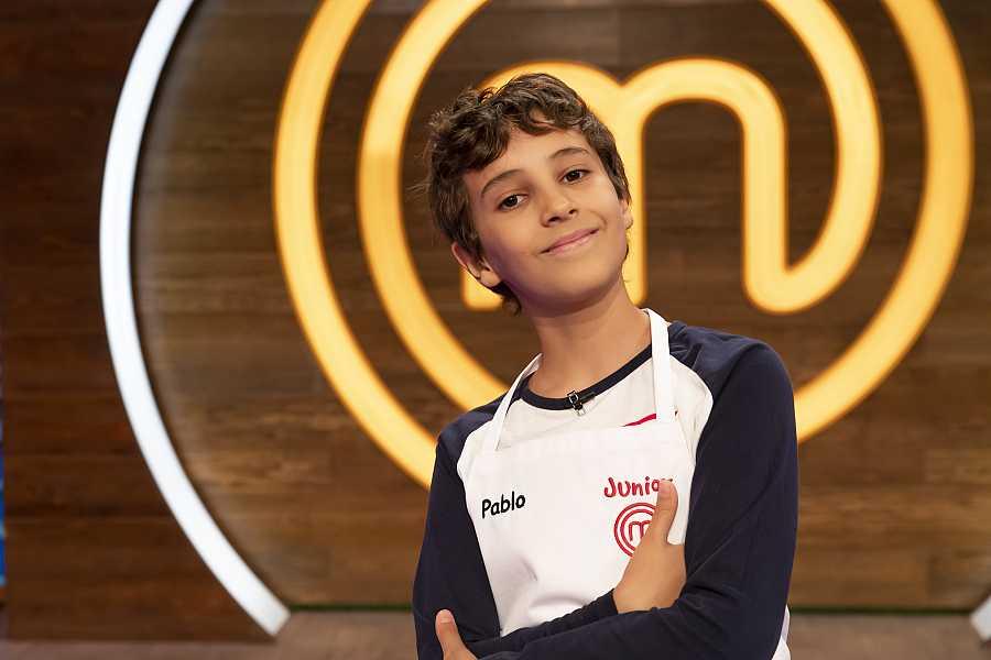 Pablo, competidor de MasterChef Junior 8