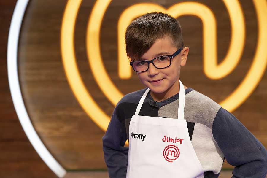 Antony, candidato a MasterChef Junior 8